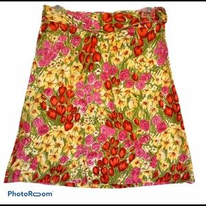 ❤️ Grace Dane Lewis Workshop Spring Skirt Tulips 6
